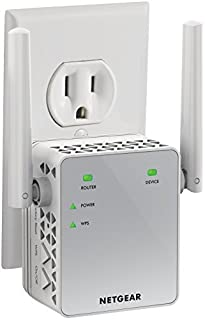 NETGEAR WiFi Range Extender EX3700 - Coverage up to 1000 sq.ft. and 15 devices with AC750 Dual Band Wireless Signal Booster & Repeater (up to 750Mbps speed), and Compact Wall Plug Design (B00R92CL5E) | Amazon price tracker / tracking, Amazon price history charts, Amazon price watches, Amazon price drop alerts