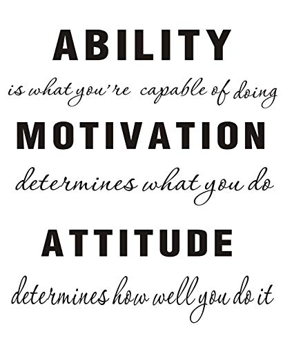 LUCKKYY Ability Capable Motivation Attitude product image