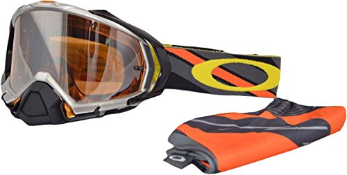 Oakley Mayhem Pro MX KTM Gravity Signature Series Goggles (Silver Frame/Black Iridium Lens)