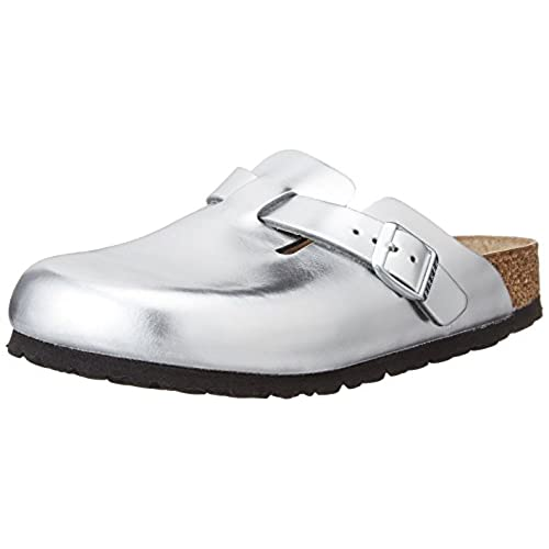 a8dc8fe5922ff chic Birkenstock Women Boston Leather Soft-Footbed Clogs - kaneusa.org
