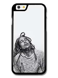 AMAF ? Accessories Brad Pitt Posing as Bob Marley Rasta Actor Portrait case for iPhone 6