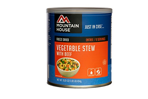 Mountain House Vegetable Stew with Beef #10 Can