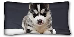 """Soft Pillow Case Cover Animal DIY Pillow Cover Size 20""""X36"""" suitable for Full-bed"""