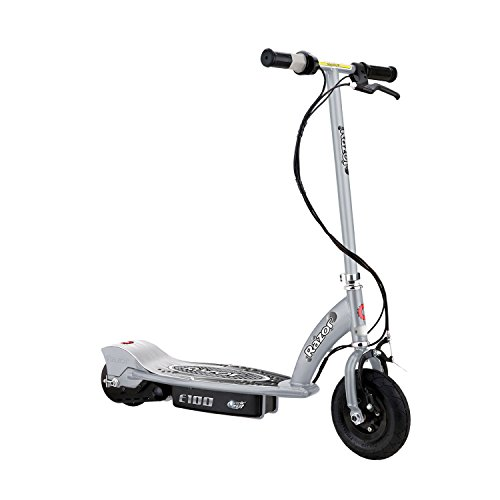 Razor E100 Motorized 24V Electric Scooter (Silver)