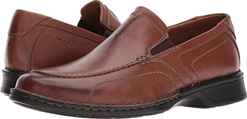 - CLARKS Men's Northam Race Loafer, Brown Leather, 11 Wide US