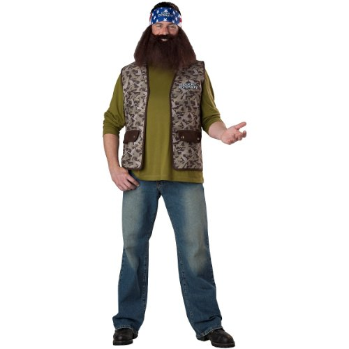 Amazon.com - Complete Adults Duck Dynasty Willie Robertson Costume One Size