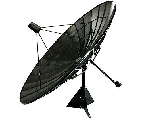 Motorized C/Ku Band Mesh Satellite Dish Package (12ft)