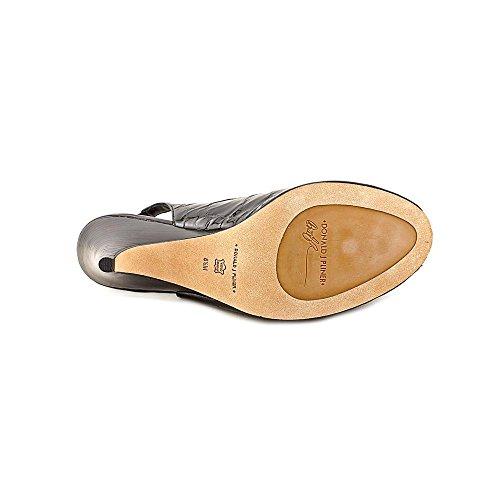 Womens 8 5 Papina Peep Toe Leather M Pliner Black Slingback Patent J Donald PxEqA6vv