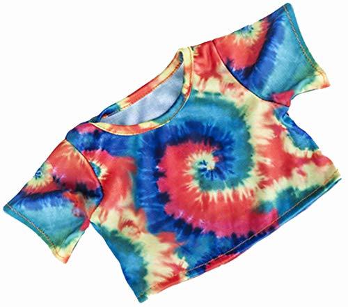 16 Inch Tie Dye T-Shirt Teddy Bear Clothes