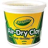 Air-Dry Clay, White, 5 lbs, Sold as 1 Each