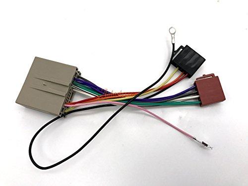 autostereo 12 –  035 está ndar iso adaptador de arné s Reith para Ford Fusion Fiesta Land Rover Freelander Cable de cableado de audio para coche Autostereo TECH