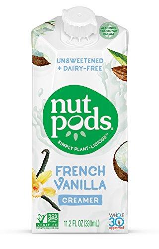 Nut Pods Creamer Diary Free French Vanilla, 11.2 fl oz