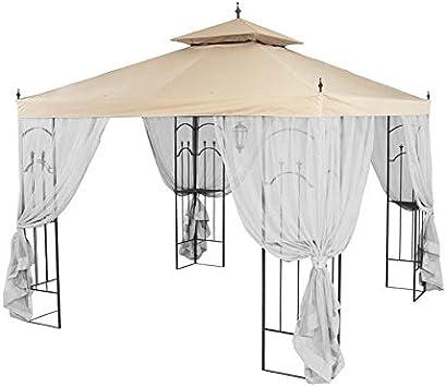 Amazon Com Garden Winds Replacement Canopy For Home Depot S Arrow Gazebo Lcm449b Garden Outdoor