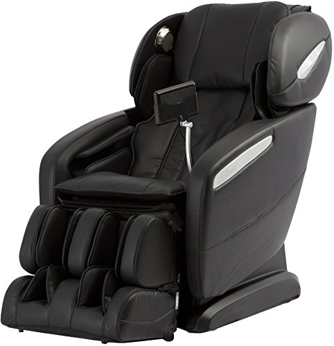 Osaki Pro Maxim A Massage Chair, Black, SL Track Roller Design, Computer Body Scan Technology, 2 Stage Zero GravityPosition, Touch ScreenController, BluetoothConnection for Speaker