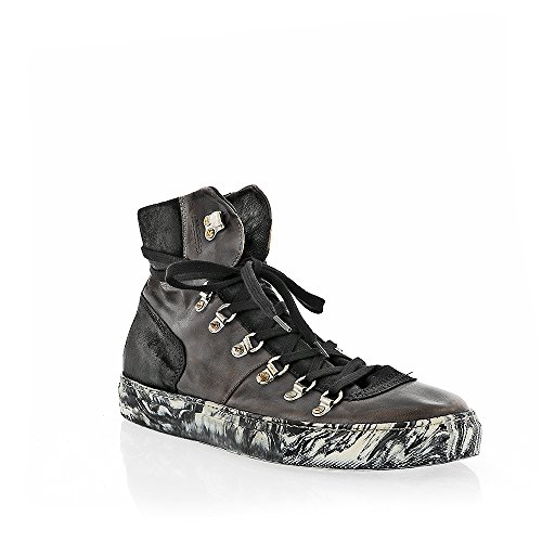 The Original Shoes Grey Lace Up High Top Sneaker by The Original Shoes (Image #3)