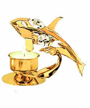 Amazon.com: ORCA Tea-light..... con Clear Swarovski vidrio ...