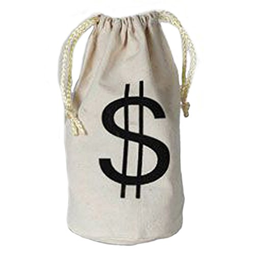 [Mini Money Dollar Sign Party Favor Goody Bag] (Robber Adult Costumes)