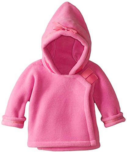 Widgeon Baby Girls' Warm Plus Fleece Jacket, Bright Pink, Newborn