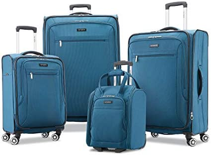 Samsonite Ascella X Softside Luggage, Teal, Underseater