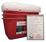 Sharps Container 1 Gallon - Plus Vakly Biohazard