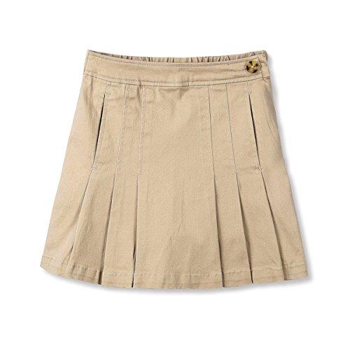 UPC 605757872360, Bienzoe Girl's Cotton Stretchy Twill School Uniforms Pocket Pleated Skirt Size12