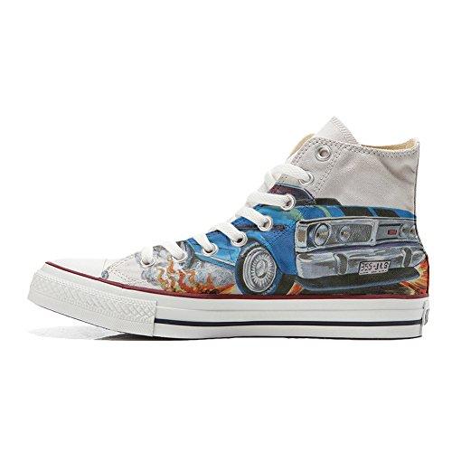 Converse All Star zapatos personalizados (Producto Handmade) con Chevrolet