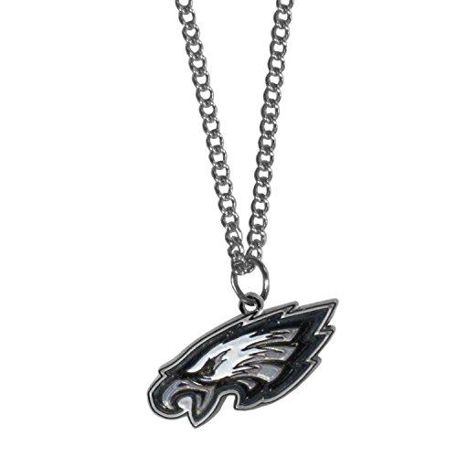 Philadelphia Eagles Charm - Siskiyou NFL Philadelphia Eagles Chain Necklace with Small Pendant, 20
