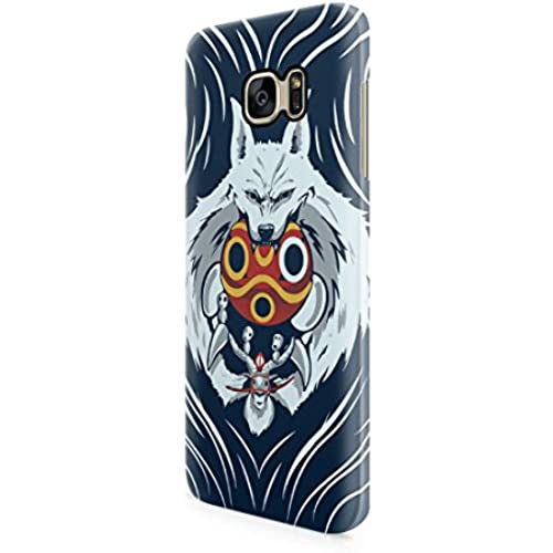 Princess Mononoke Wolf Spirit Hard Plastic Snap-On Case Skin Cover For Samsung Galaxy S7 Edge Sales