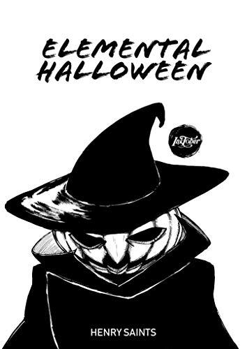 Elemental Halloween: Inktober 2018 (Portuguese Edition) -
