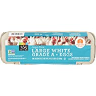 365 Everyday Value, Cage-Free Non-GMO Large White Grade A Eggs, 12 ct