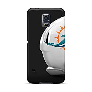 Waterdrop Snap-on Miami Dophins Helmet Case For Galaxy S5