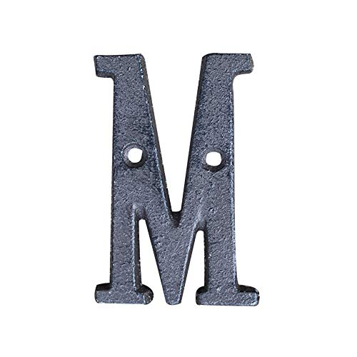 (DIY Letters,Lovewe Metal Letters,Cast Iron Address,Alphabet Decor House Sign,DIY Cafe Wall Decor (M))