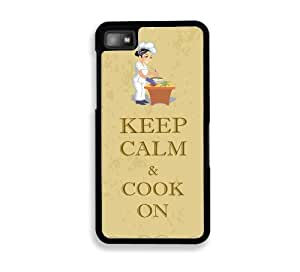 Retro Grunge Cook On Blackberry Z10 Case - For Blackberry Z10