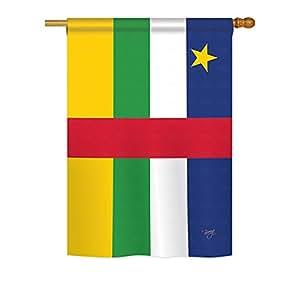 República Centroafricana Breeze decoración grande bandera 28pulgadas por 40pulgadas