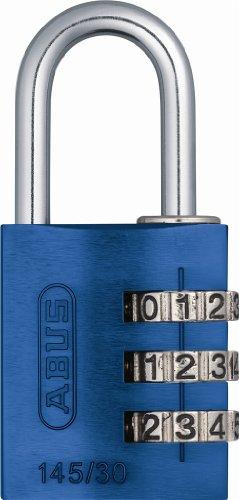 ABUS 145/30 Aluminum Blue Combination