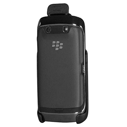 Amazon.com: MyBat Holster Face in Belt Clip for BlackBerry 9850 Torch - Retail Packaging - Black: Cell Phones & Accessories