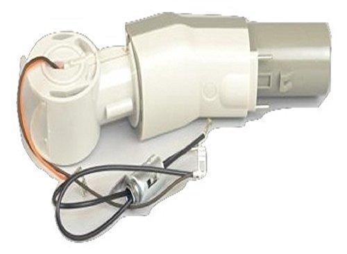 Electrolux 6500 Epic Guardian Power Nozzle Elbow Neck (Gray & White) # 26-6212-29 - Power Nozzle Neck