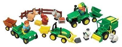John Deere 1st Farming Fun, Fun on the Farm Playset   Popular Toys