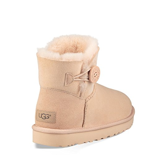 Femme Ugg Bailey Bottes Amberlight Courtes Mini Button XXFqwOT8