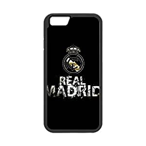 iPhone 6 Plus 5.5 Inch Cell Phone Case Black Real Madrid PHW Cell Phone Case Personalized Back