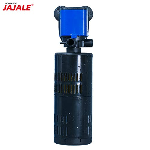 JAJALE Water Pump 320 GPH 3-in-1 Submersible Internal Filter Aquarium Powerhead Water Pump Ultra Quiet for Aquarium,Fish Tank ()