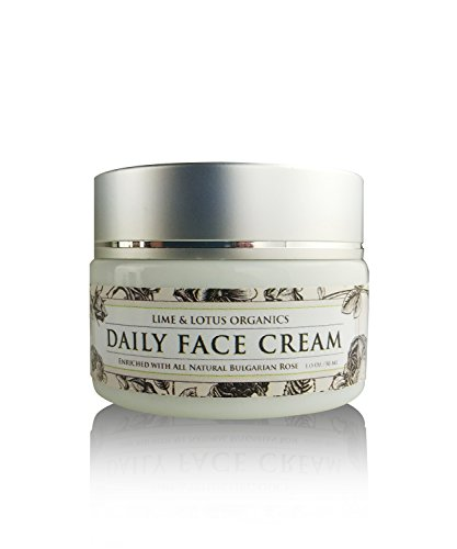 Luxurious Daily Face Cream in Glass Jar – Made With 100% All Natural Ingredients –No Synthetic Chemicals – Deep Hydrating Moisturizer Helps Reduce Lines, & - What Like With Glasses See Look You Would