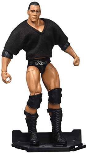 wwe rock action figure - 3
