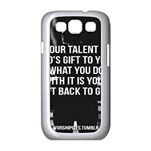 Words To Live By Samsung Galaxy S3 Case White Yearinspace023290