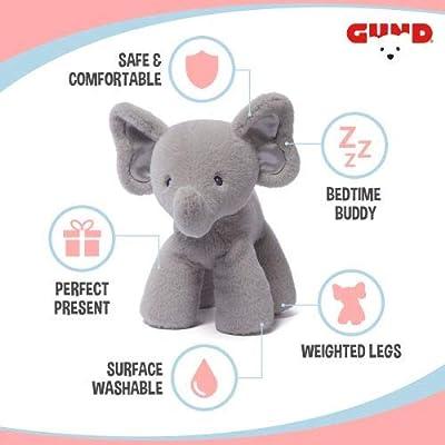 "GUND Baby Bubbles Elephant Stuffed Animal Plush, Gray, 10""- Limited Edition"