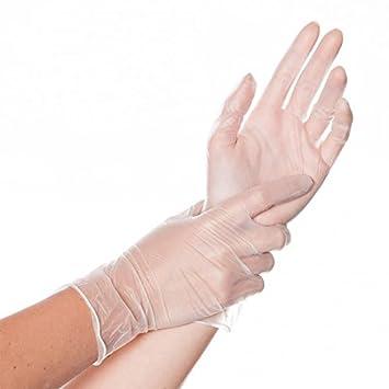 Top-Vinyl-Handschuh CLASSIC FIT leicht gepudert Untersuchungshandschuhe stabil und dehnbar Premium-Vinyl-Einweghandschuh Gr/ö/ße:XL 24 cm rei/ßfest Einmalhandschuh