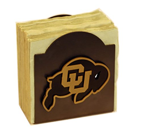 Henson Metal Works 506-49 Univ of Colorado logo Classic Napkin Holder