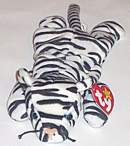 TY Beanie Baby - BLIZZARD the White Tiger - Retired Beanie Babies