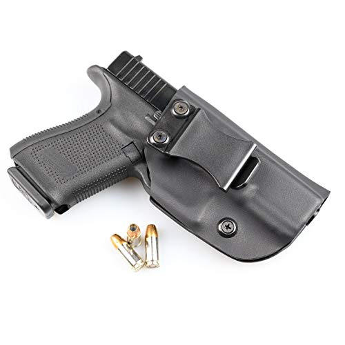 Matte Black - Kydex Concealment IWB Holster (Right-Hand, Glock 30S)