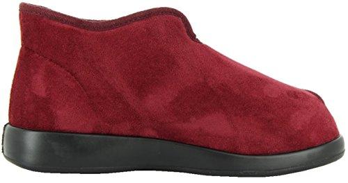 Varomed - Pantuflas para mujer Rosso (Bordo)